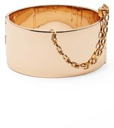 Rebecca Minkoff Women's Cuff With Chain Bracelet