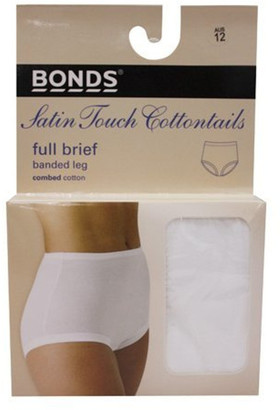 Bonds 'Cottontails' Satin Touch Full Brief 1012