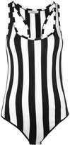 Nina Ricci striped bodysuit - women - Viscose - S