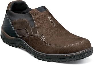 Nunn Bush Quest Moc Toe Slip-On Sneaker - Wide Width Available