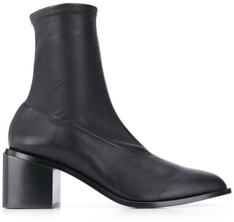 Clergerie Xia leather 75mm boots