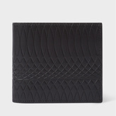 Paul Smith No.9 - Men's Black Leather Billfold And Coin Wallet