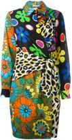 Moschino wrap front shirt dress