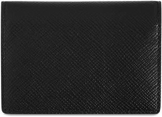 Smythson Panama Leather Card Holder