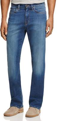 34 Heritage Charisma Comfort-Rise Classic Straight Fit Jeans in Mid Cashmere