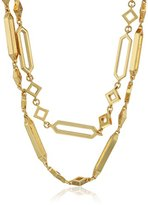 "Gorjana Sia Collection"" Sia Wrap Gold Strand Necklace,38"""