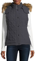 Andrew Marc Thea Quilted Stretch Vest
