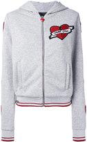Philipp Plein heart hoodie