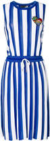 Love Moschino striped flared dress