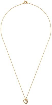 As 29 18kt yellow gold Mye heart beading diamond necklace