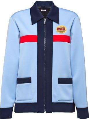 Miu Miu Techno jersey jacket