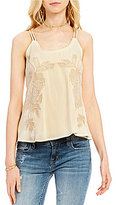 Miss Me Embroidered Swing Tank Top