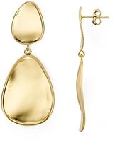 Argentovivo Mirrored Drop Earrings