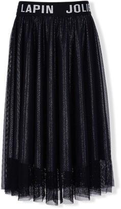 Lapin House Logo Tulle Skirt