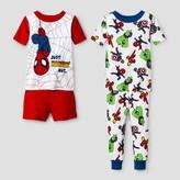 Spiderman Toddler Boys' Pajama Set
