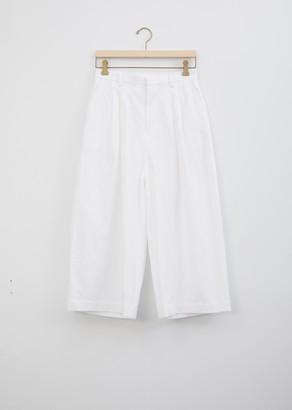 Minä Perhonen Kivi Cotton and Linen Trouser White