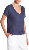 Velvet by Graham & Spencer Gale Thermal V-Neck Tee