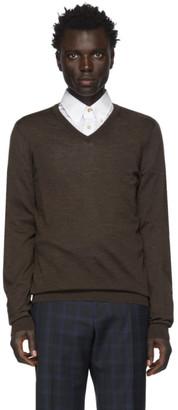 BOSS Brown Melba-P Sweater