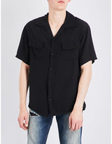 Hollywood Trading Company Embroidered woven shirt