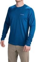 Columbia Peak Racer Omni-Wick® Shirt - Long Sleeve (For Men)