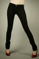 Lowrise Stretch Twill Jean - Black