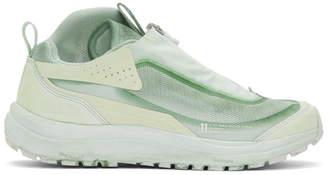 11 By Boris Bidjan Saberi Green Salomon Edition Bamba2 Sneakers