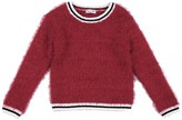 Splendid Little Girl Fuzzy Yarn Sweater