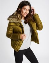Marks and Spencer Padded & Quilted Jacket with StormwearTM