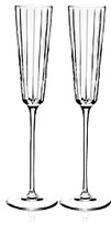 Rogaska Avenue Champagne Flute, Set of 2