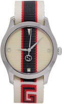 Gucci White G-Timeless Watch