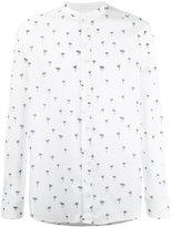 Paolo Pecora palm print shirt
