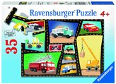 Ravensburger Tires and Engines (35 pc) Puzzle