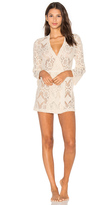 Only Hearts Mosaic Lace Short Robe