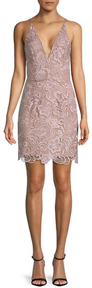 Dress the Population Allie Floral Lace Dress