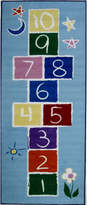 Fun Rugs Fun Time Primary Hopscotch Kids Rug Rug