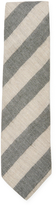 DeSanto Men's Striped Alpaca Tie