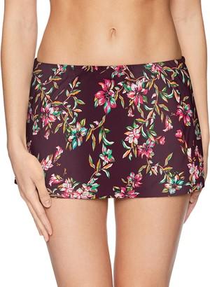 Sunsets Women's Kokomo Swim Skirt Mid Rise Bikini Bottom Swimsuit