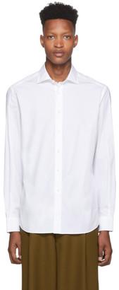 Ralph Lauren Purple Label White Bond Dress Shirt
