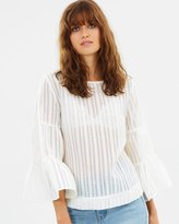 Wish Double Take Blouse
