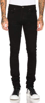 Amiri Stack Jean in Black | FWRD