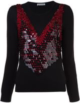 Altuzarra sequin embellished jumper