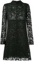 Valentino beaded butterfly heavy lace dress - women - Silk/Cotton/Polyamide/Viscose - 42