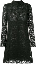 Valentino beaded butterfly heavy lace dress