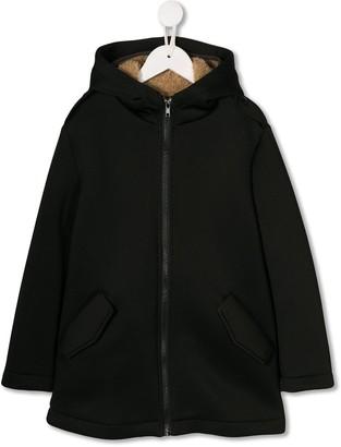 Douuod Kids hooded zip-up jacket