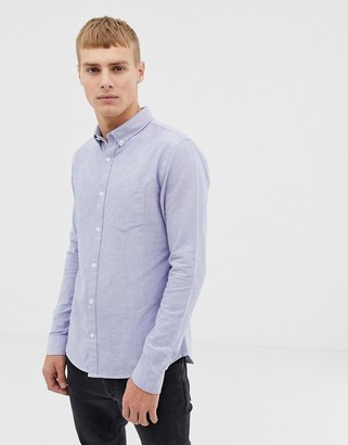 New Look oxford shirt in regular fit in light blue