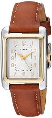 Timex Women's TW2R89600 Meriden Leather Strap Watch