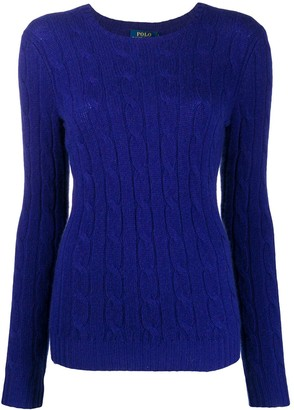 Polo Ralph Lauren Cable Knit Cashmere Jumper