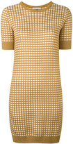 Bella Freud sparkle gingham knit dress - women - Rayon/Wool/Metallic Fibre - XS
