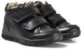 Primigi Black Velcro School Shoes