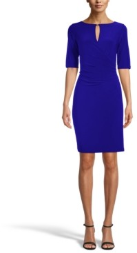 Anne Klein Maryellen Keyhole Sheath Dress